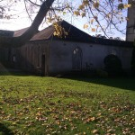 Autumn view of Inch House Chapel
