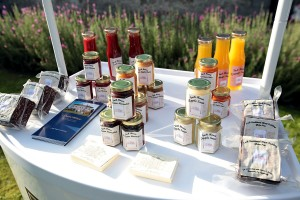 Inch House sauces, marmalade and chutneys